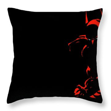 Batman Dark Victory Throw Pillow
