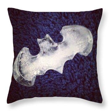 Batman Ice #batman #ice #comics #love Throw Pillow
