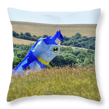 Batman Kite Throw Pillow
