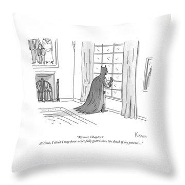 Batman Memoir Chapter 1 Throw Pillow