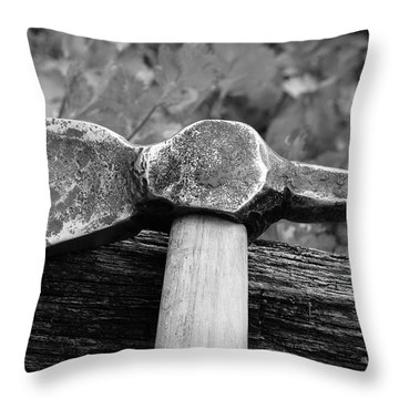 Battle Axe Throw Pillow