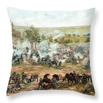 Gettysburg Throw Pillows