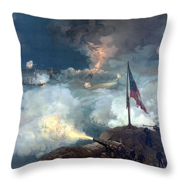 Battle Of Port Hudson Throw Pillow by War Is Hell Store