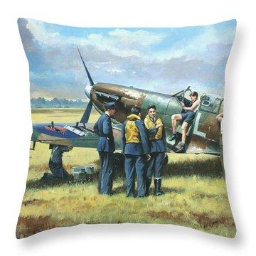 'battle Tactics' Throw Pillow