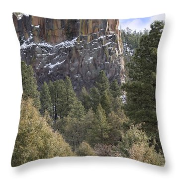 Battleship Rock Throw Pillow