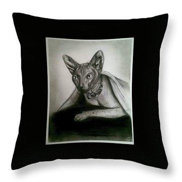 Battman Throw Pillow