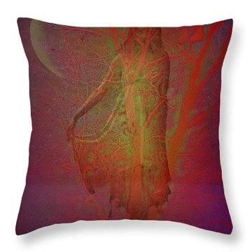Baumwesen Throw Pillow by Mimulux patricia no No