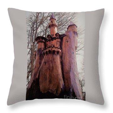 Bavarian Castle Throw Pillow