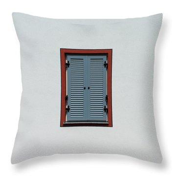 Bavarian Windows 5 Throw Pillow