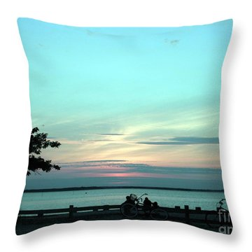 Bay Breeze Throw Pillow
