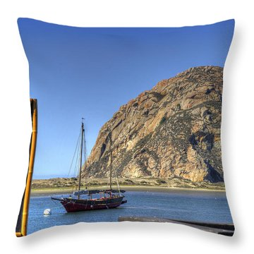 Bay Cruise At 11 Throw Pillow