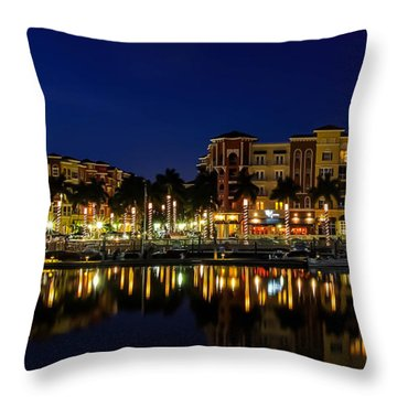 Bayfront Throw Pillow