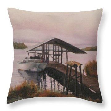 Bayou  Throw Pillow