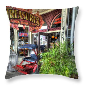 Baytown Treasures Throw Pillow