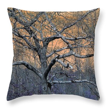 Bb's Tree 2 Throw Pillow