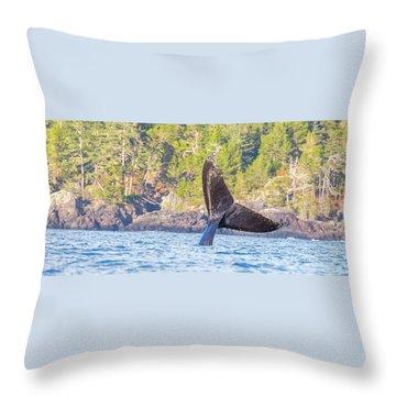 Bc Tailing  Throw Pillow