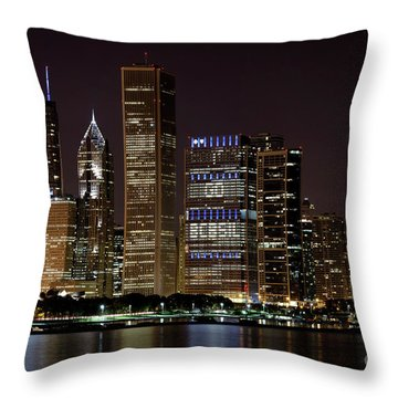 Bcbsil Throw Pillow