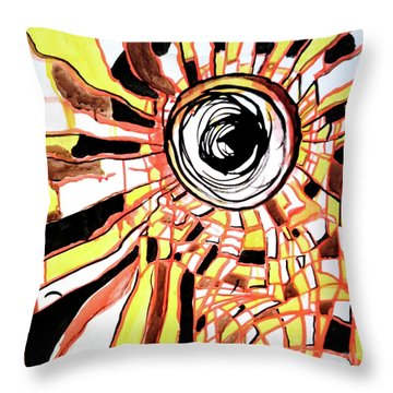 Be Bright Be Bold Throw Pillow