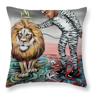 Be Courageous My Son Throw Pillow