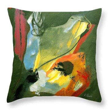 Be Faithful Throw Pillow by Ruth Palmer