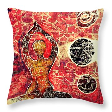 Be Grounded Throw Pillow