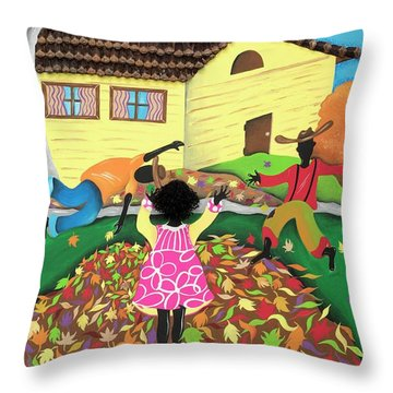 Be-leaf Throw Pillow