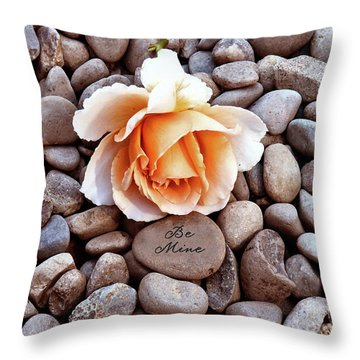 Be Mine  Throw Pillow by Diane E Berry