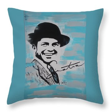Be Moore Frank Throw Pillow