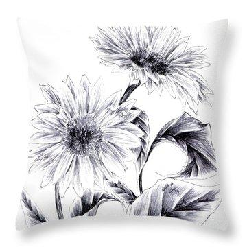 Be My Sun Throw Pillow