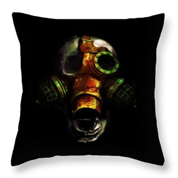 Be Prepared Throw Pillow