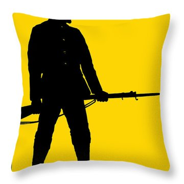Be Ready - Join Now Throw Pillow