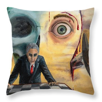 Be Secret And Exult Throw Pillow