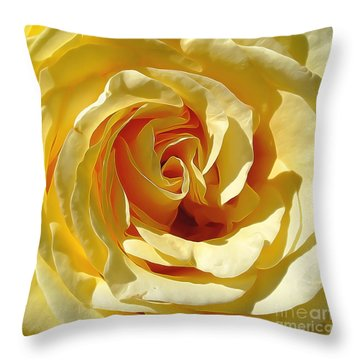 Be Still And Know Throw Pillow by Gina Savage