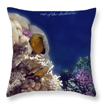 Be The Light Which Helps Others Throw Pillow