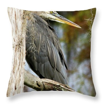 Be The Tree Throw Pillow by Lamarre Labadie