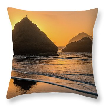 Throw Pillow featuring the photograph Be Your Own Bird by Darren White