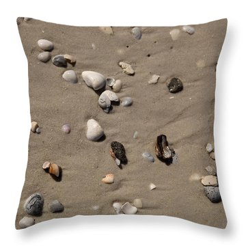 Beach 1121 Throw Pillow