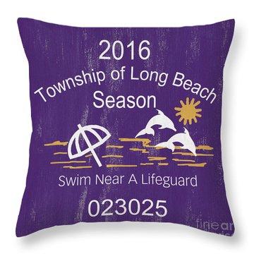 Badge Throw Pillows