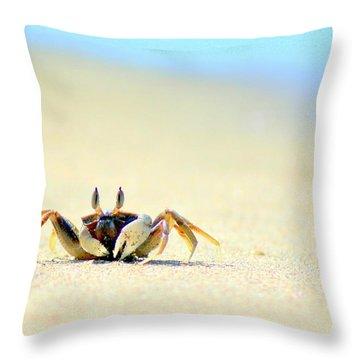 Crab Throw Pillows