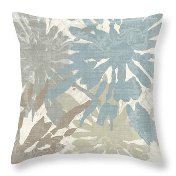 Beach Curry II Throw Pillow by Mindy Sommers