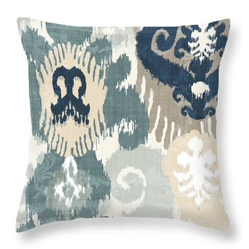 Beach Curry IIi Throw Pillow by Mindy Sommers