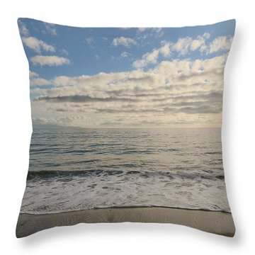 Beach Day - 2 Throw Pillow
