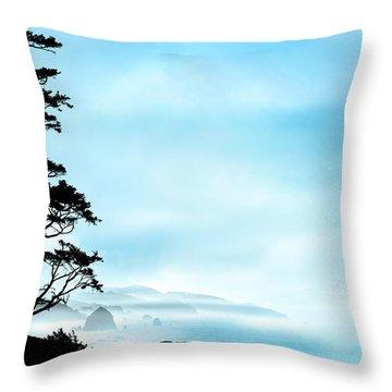 Beach Dreams On The Oregon Coast Throw Pillow