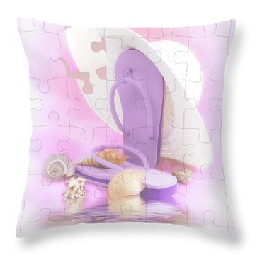 Beach Dreams Throw Pillow
