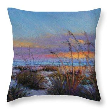 Beach Escape Throw Pillow