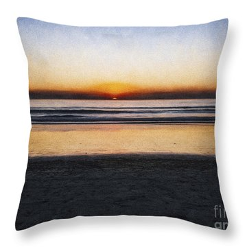 Beach Family  ... Throw Pillow