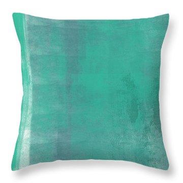 Beach Glass 2 Throw Pillow