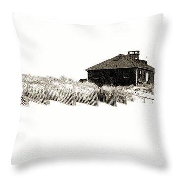 Beach House - Jersey Shore Throw Pillow