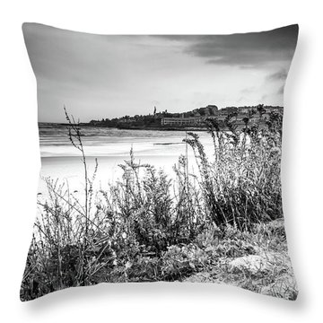 Beach In Ogunquit Throw Pillow