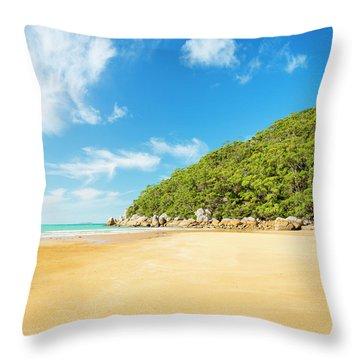 Beach In Wilsons Promontory Throw Pillow